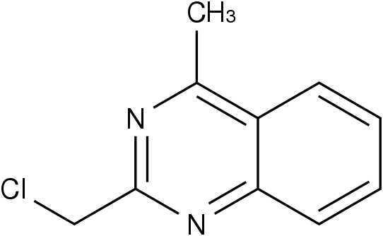2-氯甲基-4-甲基喹唑啉 2-(Chloromethyl)-4-methylquinazoline