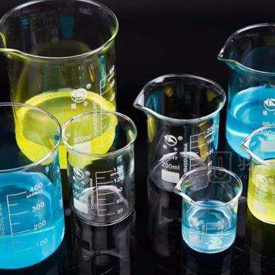 蜀牛 低形 烧杯 高硼硅GG-17玻璃 带刻度
