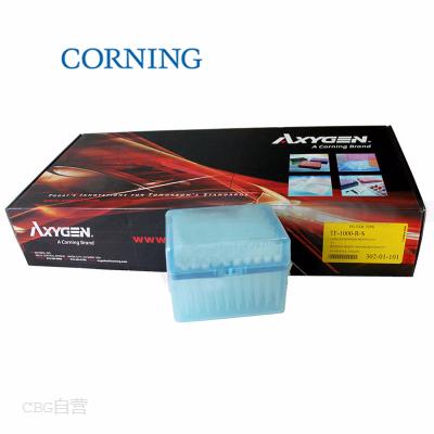康宁 Axygen 1000ul盒装灭菌透明滤芯枪头
