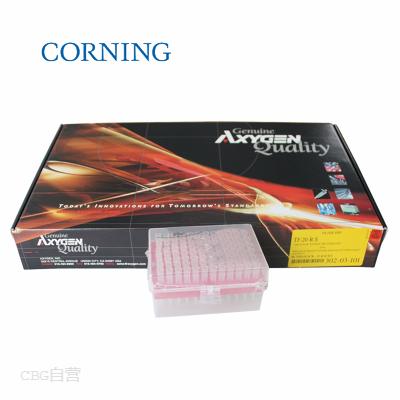 康宁 Axygen 20ul盒装灭菌透明滤芯枪头