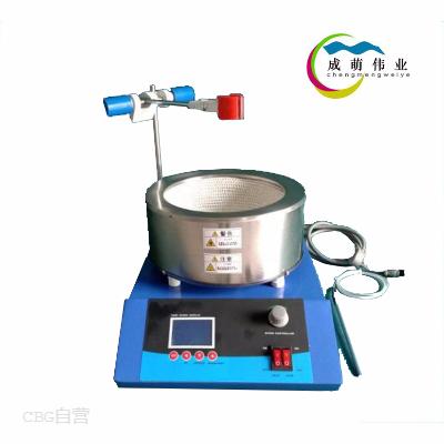 成萌伟业  ZNCL-T15型2018液晶款智能磁力(电热套)搅拌器