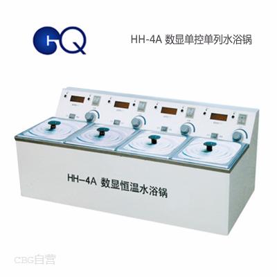 国华仪器  HH-4A数显单控单列水浴锅