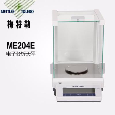 METTLER梅特勒-托利多 电子分析天平ME204/E