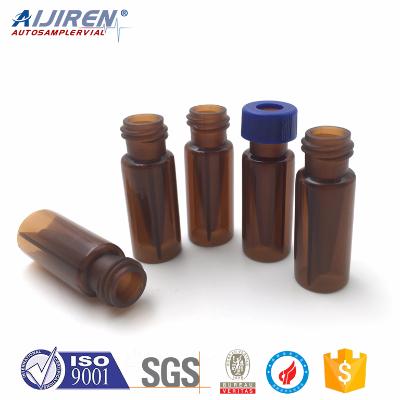爱吉仁 0.3ml PP螺口微量棕色进样瓶(配盖垫) VP93