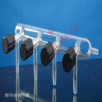 高真空阀节门单排管气体分配器