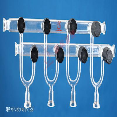 真空阀节门 15#O-Ring接口 双排管气体分配器