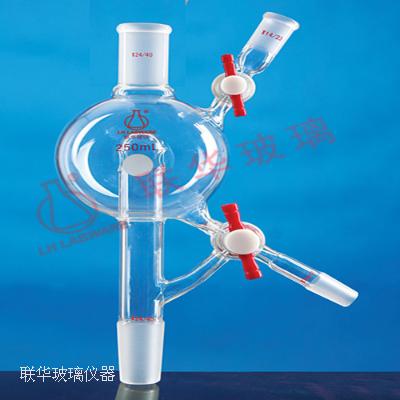 溶剂蒸馏头(双四氟节门)