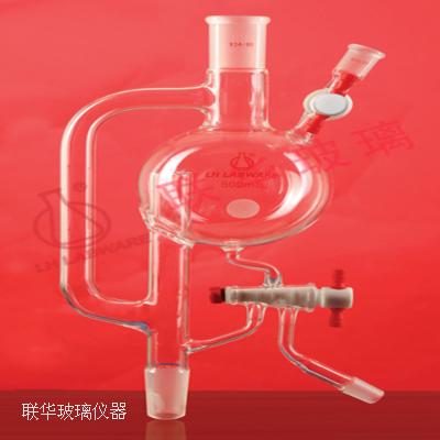 溶剂蒸馏头  带出液口