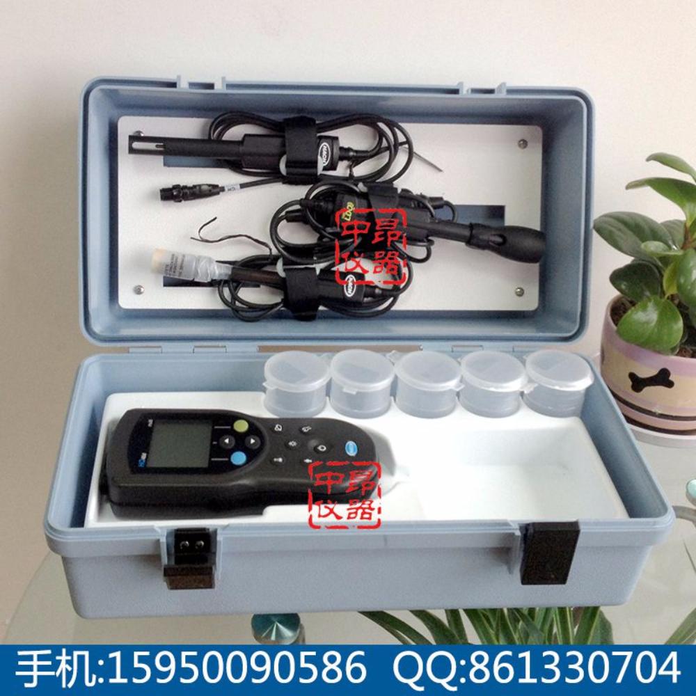 美国HACH哈希HQ40D+1米溶解氧电极+1米PH电极+1米电导率电极套装