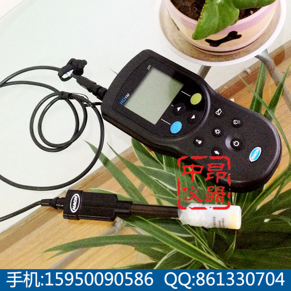 国HACH哈希HQ11D加1米PHC103电极,便携式PH仪,HQ11D531013000